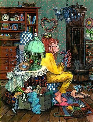 The Craftmaker Poster by Patty Fleckenstein