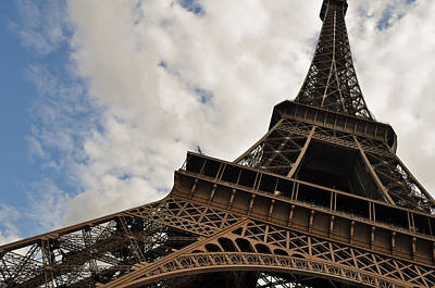 The Eiffel Tower Polarized Poster by Mary Machare