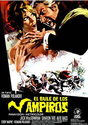 The Fearless Vampire Killers, Aka Dance Poster by Everett
