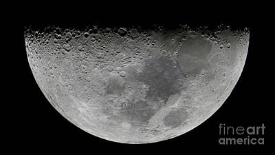 The Feature Known As Lunar-x Visible Poster by Luis Argerich
