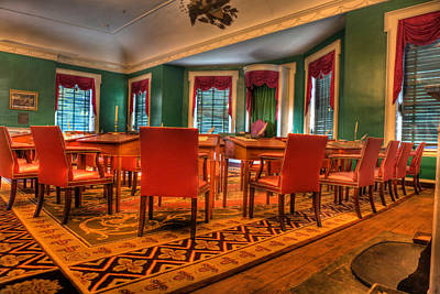 The First American Congress Senate Chamber - Independence Hall - Congress Hall -  Poster by Lee Dos Santos