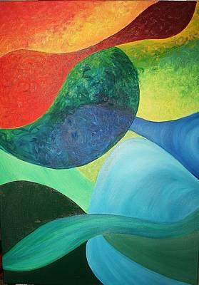 The Four Elements Poster by Derya  Aktas