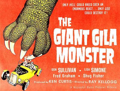 The Giant Gila Monster, Half-sheet Poster by Everett