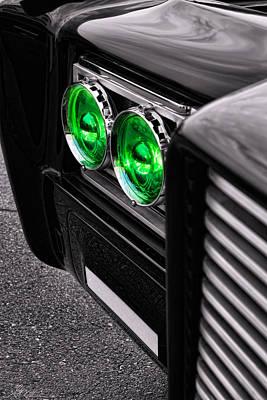 The Green Hornet - Black Beauty Close Up Poster by Gordon Dean II