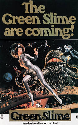 The Green Slime, 1968 Poster by Everett