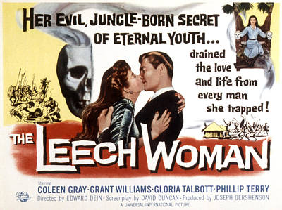 The Leech Woman, Coleen Gray, Grant Poster by Everett