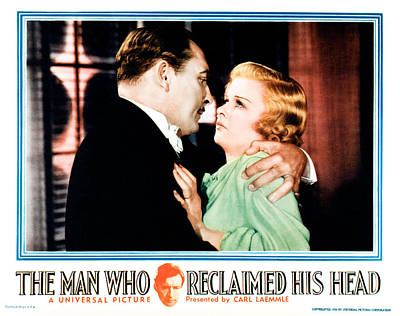 The Man Who Reclaimed His Head Poster by Everett