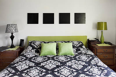 The Master Bedroom Of A House Poster by Christian Scully