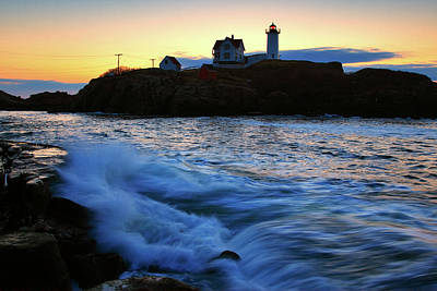 The Nubble Poster by Rick Berk