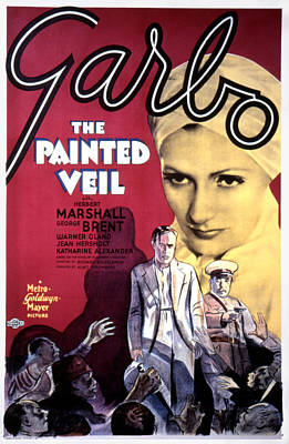 The Painted Veil, Greta Garbo, 1934 Poster by Everett