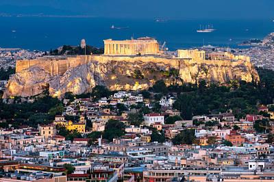 The Parthenon Poster by Emmanuel Panagiotakis