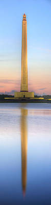 The San Jacinto Monument Poster by JC Findley