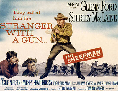 The Sheepman, Shirley Maclaine, Mickey Poster by Everett