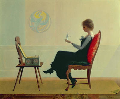 The Suitors Poster by Harry Wilson Watrous