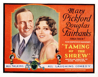 The Taming Of The Shrew, Douglas Poster by Everett