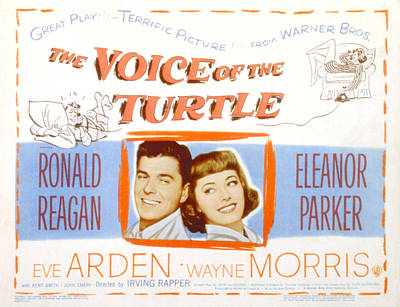 The Voice Of The Turtle, Ronald Reagan Poster by Everett