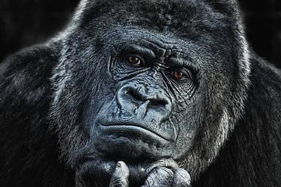 thinking about U Poster by Joachim G Pinkawa