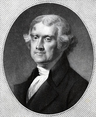 Third President Of The Usa - Thomas Jefferson Poster by International  Images