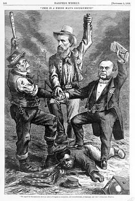 This Is A White Mans Government. An Poster by Everett