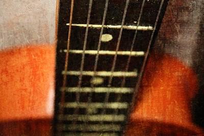 This Old Guitar Poster by Martina Fagan