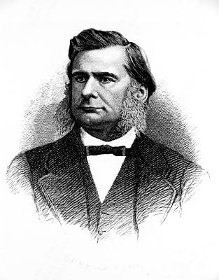 Thomas Huxley, English Biologist Poster by Omikron
