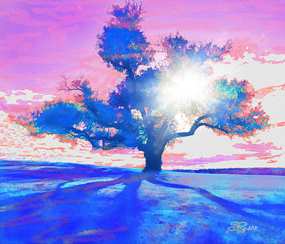Tree Art 001 Poster by Suni Roveto