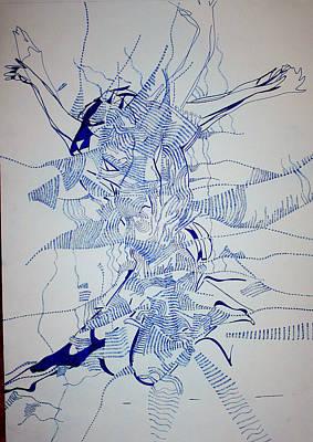 Triple Jump Poster by Gloria Ssali