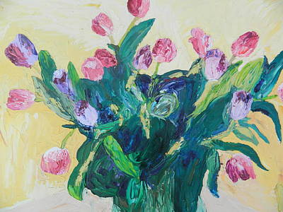 Tulips Poster by Kat Kemm