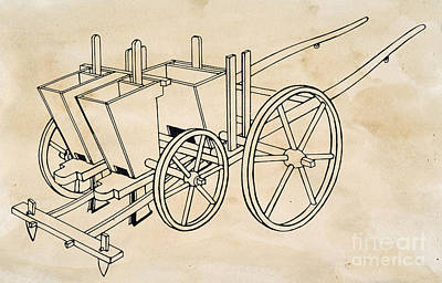 Tull: Seed Drill Poster by Granger