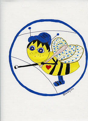 Tweenie Bee Tommy Poster by Christy Woodland