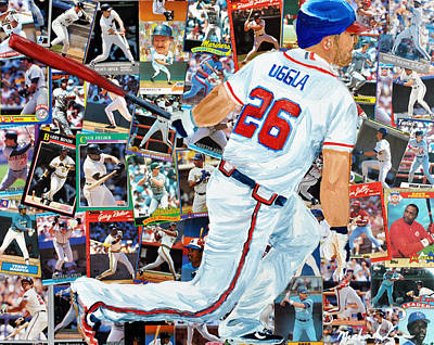 Uggla Poster by Michael Lee
