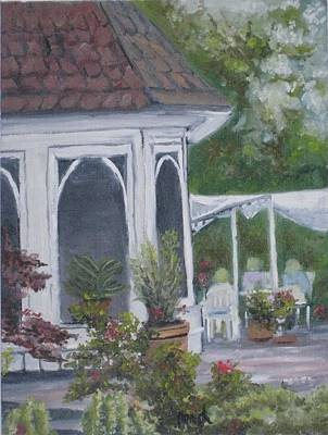 Uncle's Garten Poster by Paintings by Parish
