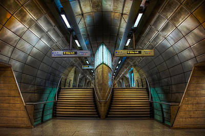Underground Ship Poster by Svetlana Sewell