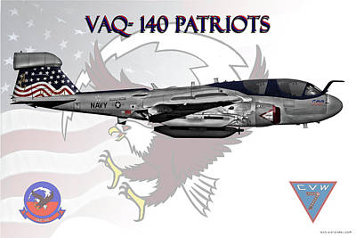Vaq-140 Poster by Clay Greunke