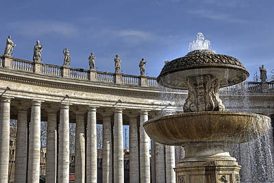 Vatican - St. Peter's Square Poster by Joana Kruse