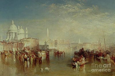 Venice Poster by Joseph Mallord William Turner