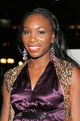 Venus Williams At Arrivals For Hitch Poster by Everett