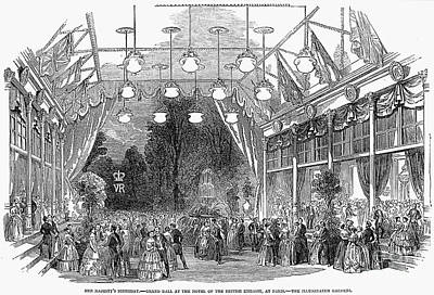 Victorias Birthday, 1853 Poster by Granger