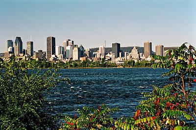 Ville De Montreal Poster by Juergen Weiss
