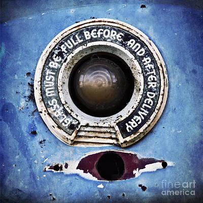 Vintage Detail Of A Gas Pump Poster by Priska Wettstein