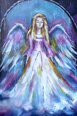 Vision Of Angel  Poster by Khatuna Buzzell