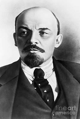 Vladimir Lenin, Russian Marxist Poster by Photo Researchers