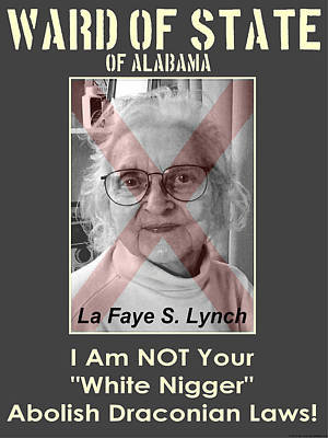 Ward Of State Of Alabama Poster by Terry Lynch