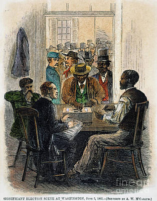 Washington: Voting, 1867 Poster by Granger