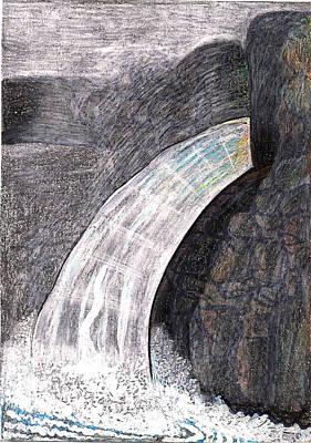 Thaw Surge Cambridge  New York Poster by Al Goldfarb