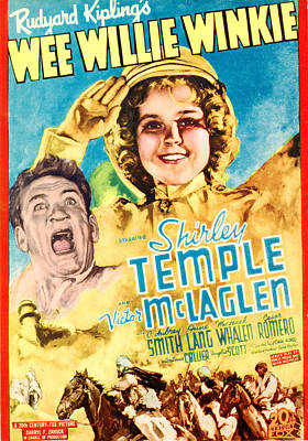 Wee Willie Winkie, From Left Victor Poster by Everett