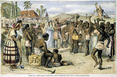West Indies: Slavery, 1833 Poster by Granger