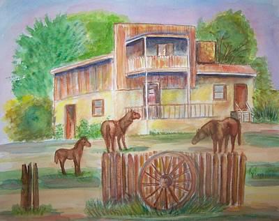 Western Recluse Poster by Belinda Lawson