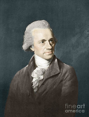 William Herschel, German Astronomer Poster by Science Source