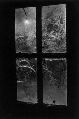Window At Castle Frankenstein Poster by Simon Marsden